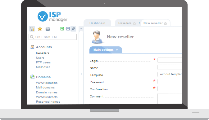 ISPmanager Business